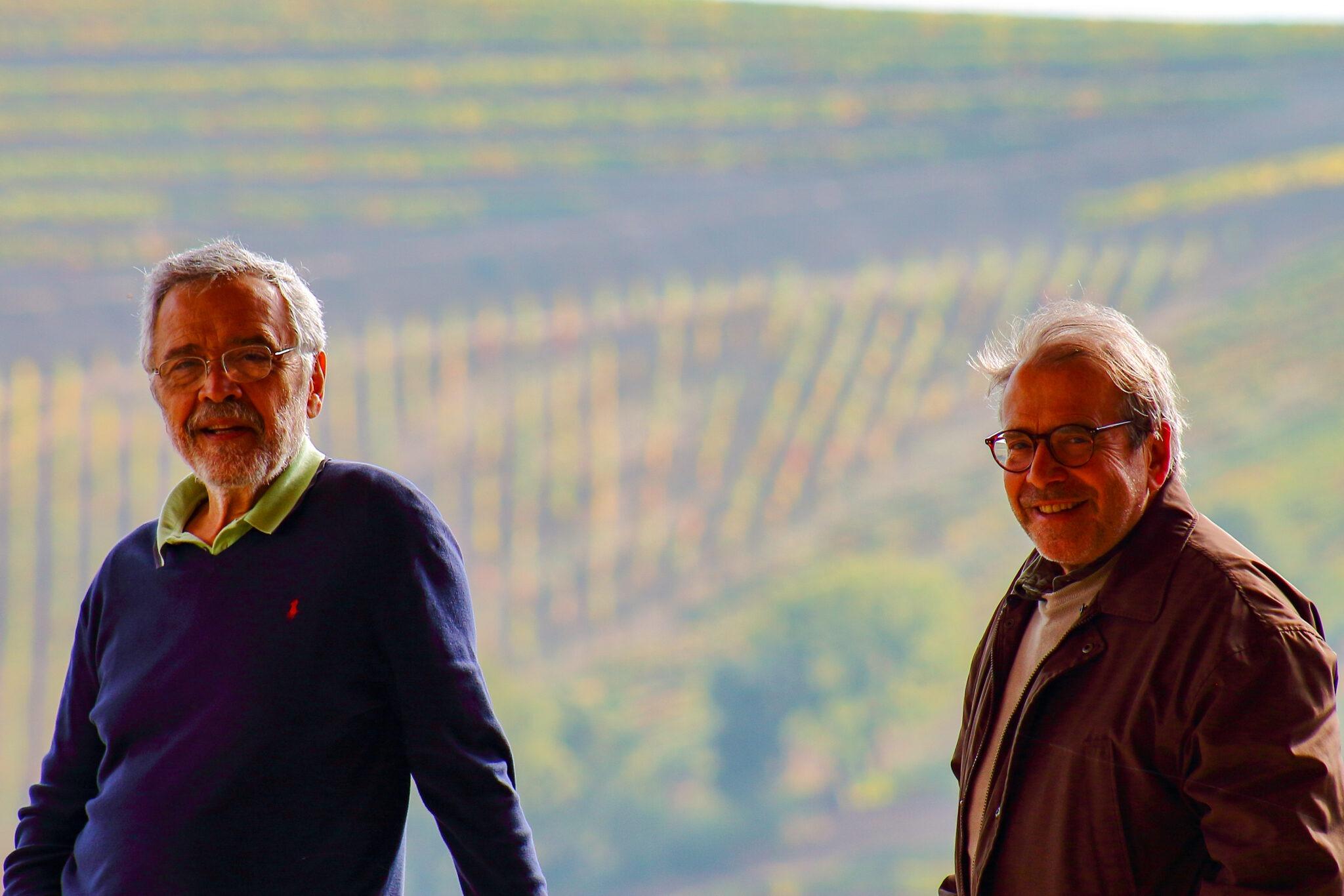 José Afonso Alves Castanheira e Luiz Antônio Corrêa Nunes Vianna de Oliveira, proprietários da Duas Árvores